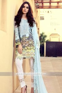 DRP6316 - Pakistani Designer Embroidered Lawn Suits 2017