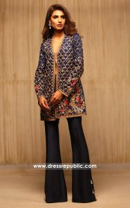 dr14169 - Designer Jacket with Bell Bottoms