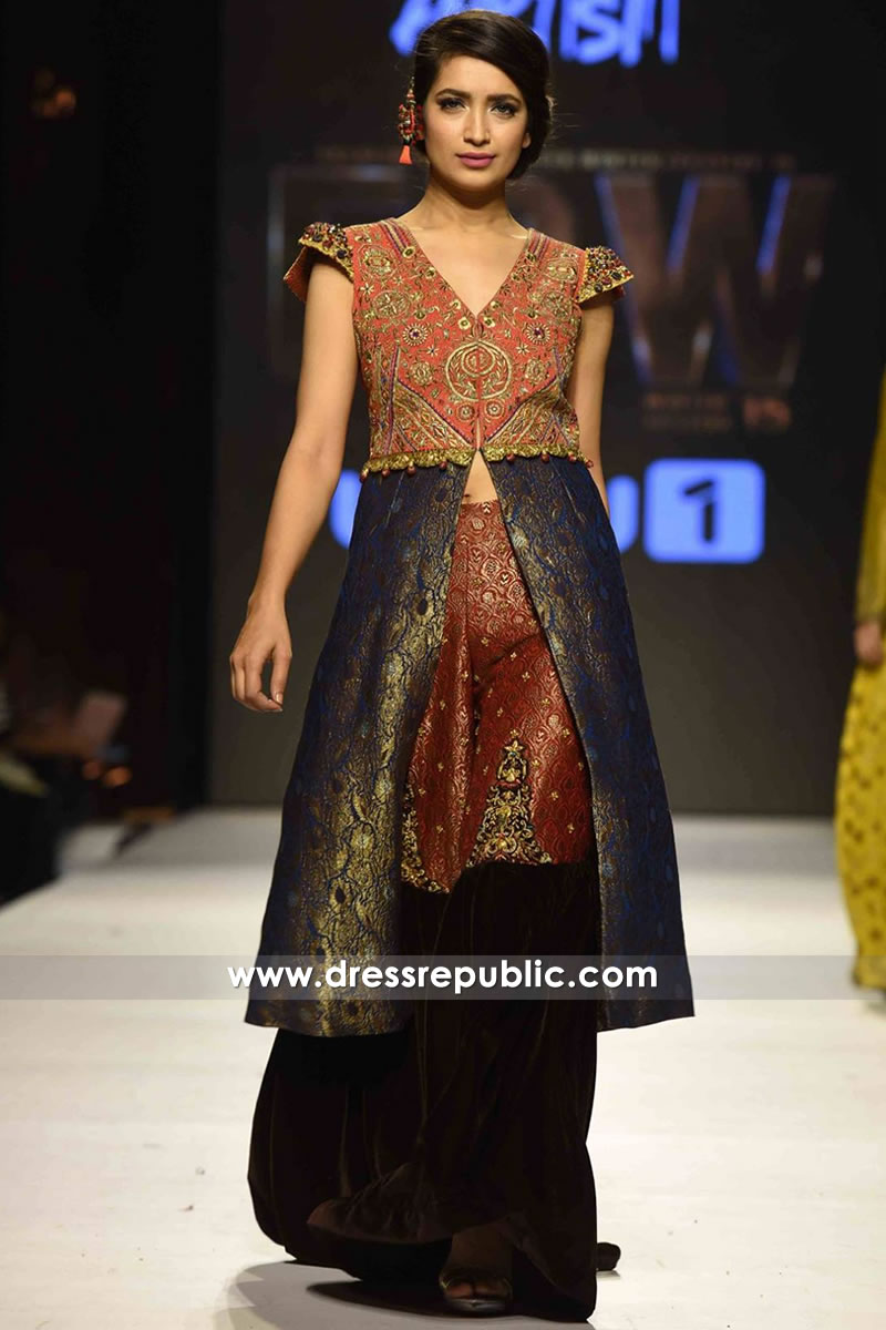 DR14264 - Deepak Perwani Partywear Dress