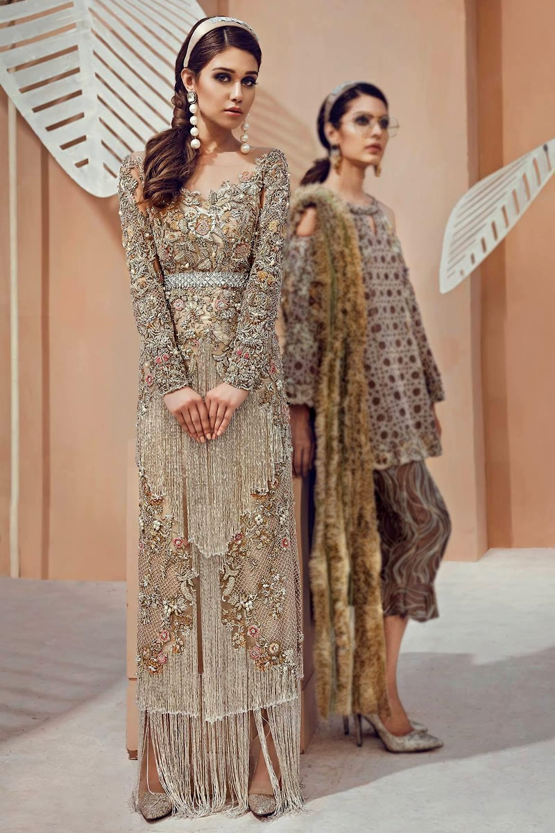 DR14313 - Modern Wedding Guest Trousseau by Dress Republic