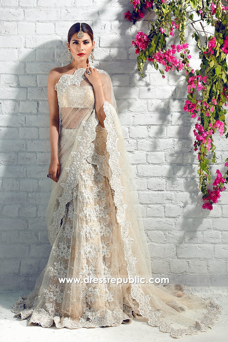 9936581f2bd13 DR14327 - Champagne Bridal Lehenga for Pakistani and Indian Wedding Brides