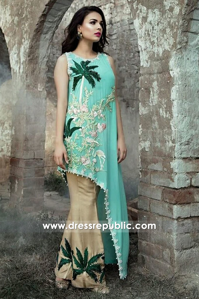 DR14370 - Saira Shakira EID SS17 Collection Online Shop London, Manchester, UK