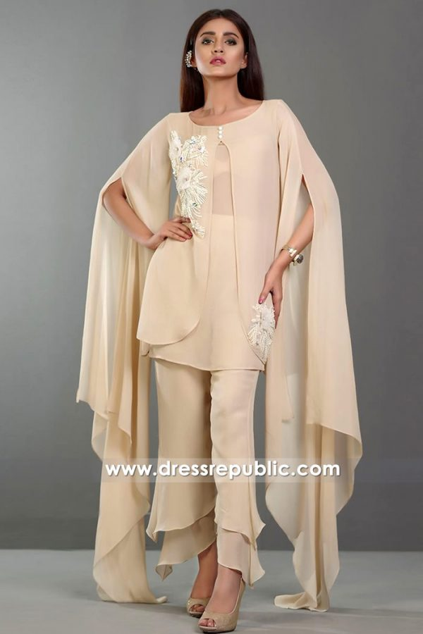 DR14376 - Stylish Trendy Pakistani Casual Wear Dresses