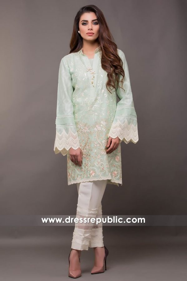 DR14410 - Pakistani Designer Wears for Kids Birthday Party USA