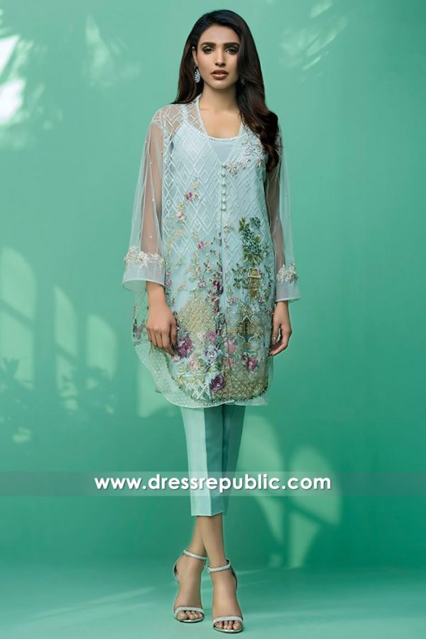 DR14418 - Designer Pakistani Dress Shop New York