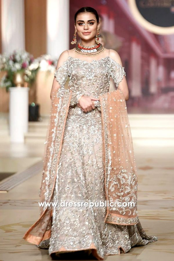 DR14471 - Hajra Hayat Bridal Dresses 2018 USA