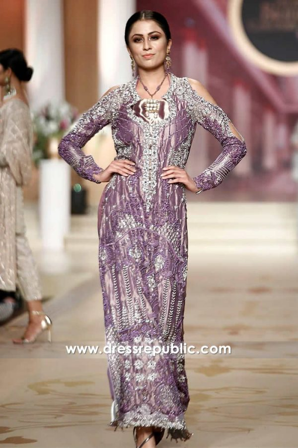 DR14479 - Periwinkle Purple Long Dress
