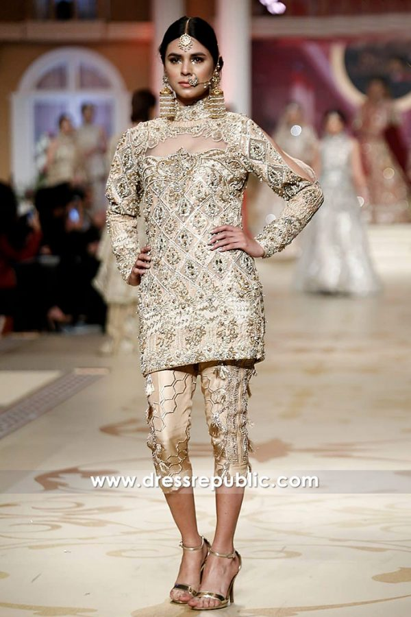 DR14490 - Pakistani Indian Wedding Guest Dresses 2018 UK