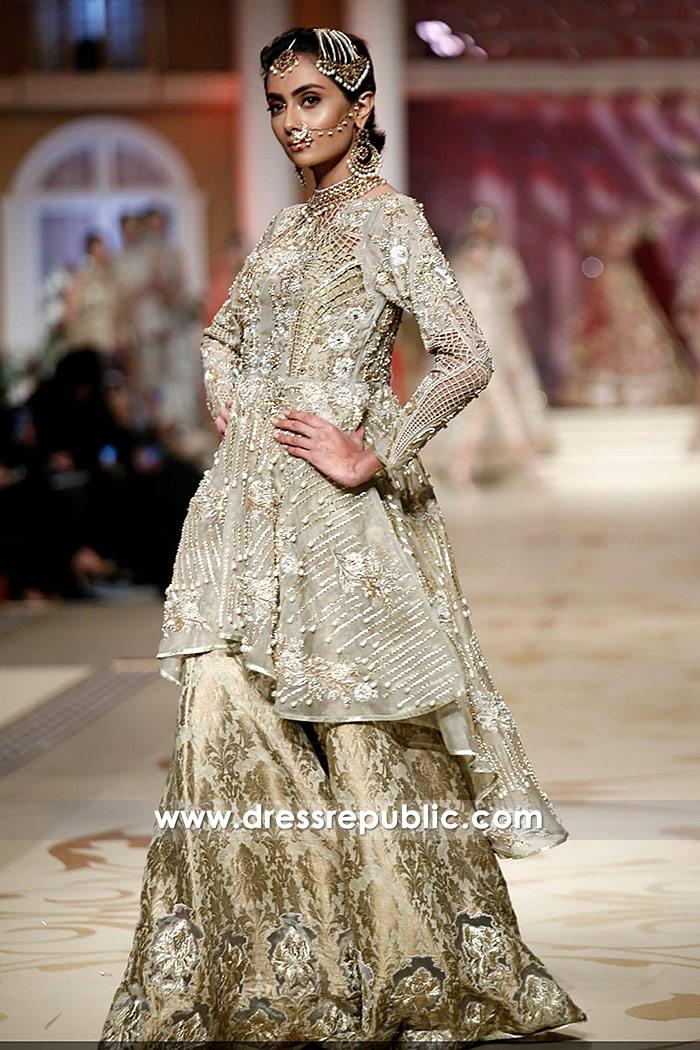 Pakistani Peplum Dresses 2018 With High Low Hemline Online