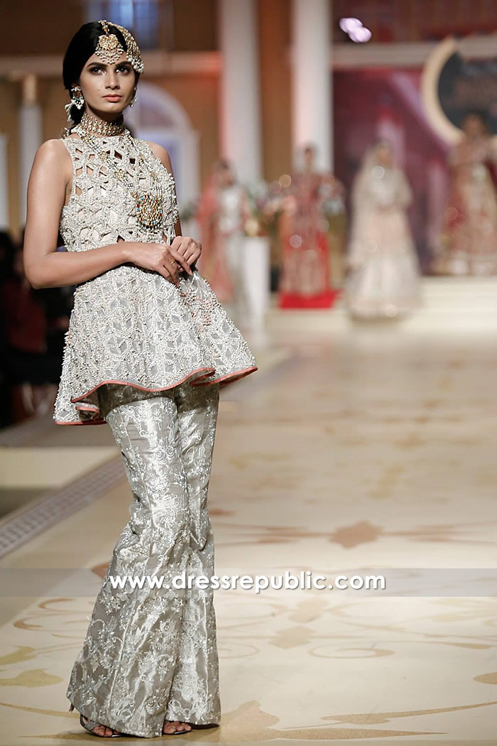 DR14494 - Pakistani Fashion Week 2017 Dresses Online