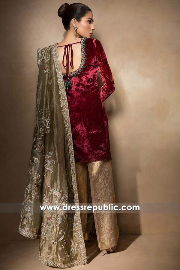 DR14511b - Mahgul Party Wear Dresses 2018 Collection Shop Online USA