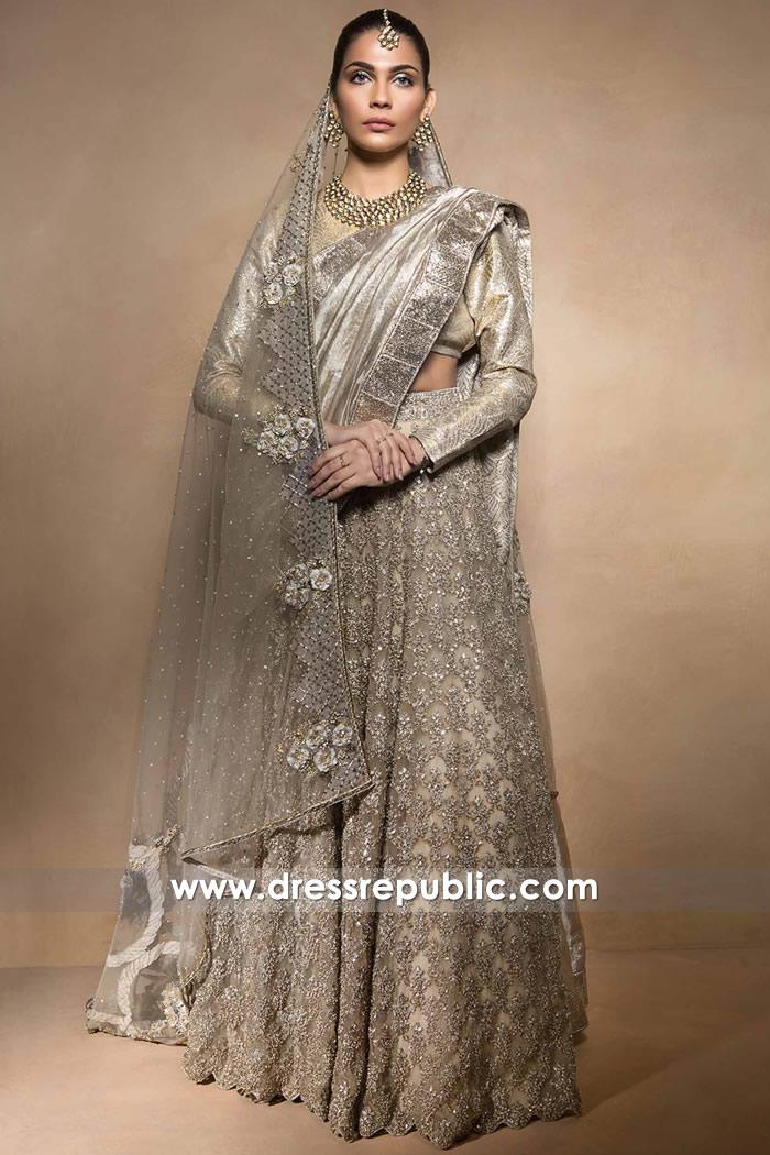 DR14516 - Pakistani Designer Mahgul Wedding Dresses 2017 2018