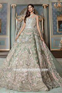 DR14533 Pakistani Designer Bridal Dresses 2018 Los Angeles, New York, USA