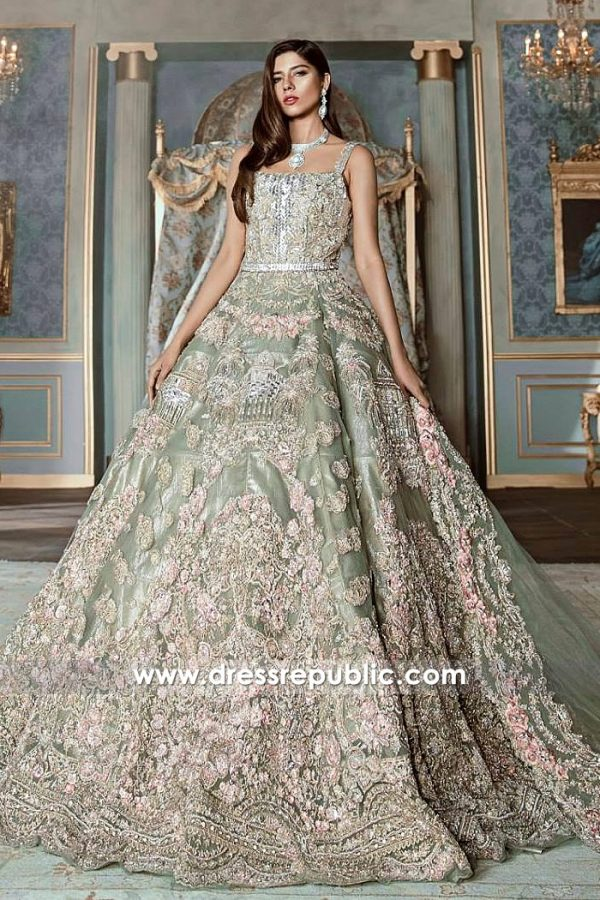 DR14533 Pakistani Designer Bridal Dresses 2018 Los Angeles, New York, USA