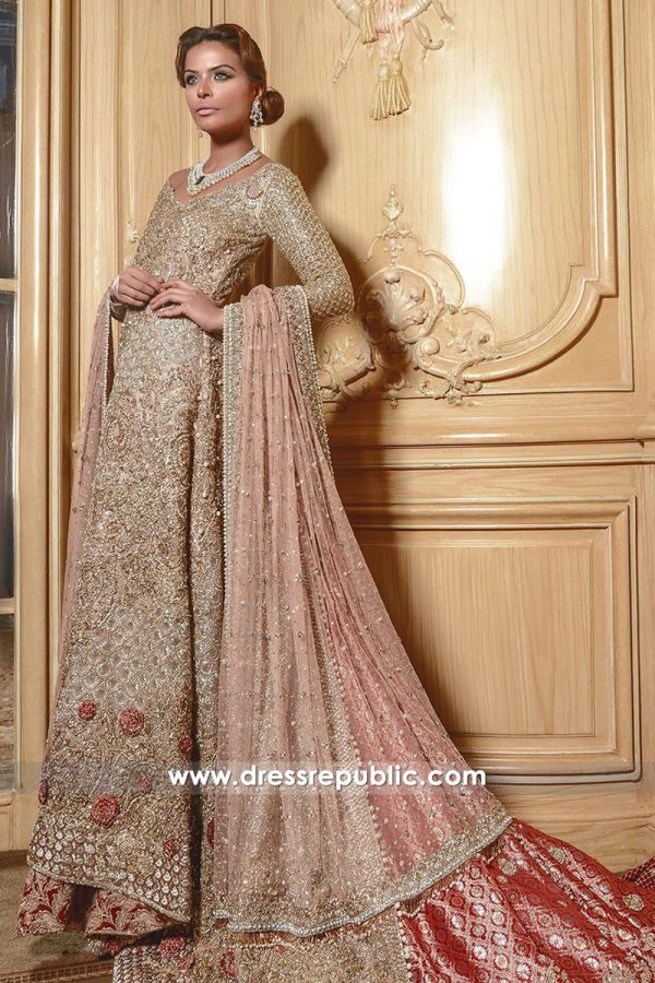 DR14548 Faraz Manan Bridal Dresses 2018 London, Manchester, Birmingham UK