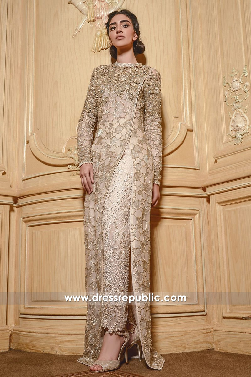 DR14551 Faraz Manan UK Ready To Wear Gown Collection 2018 Buy Online