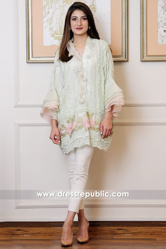 DR14564 Agha Noor Westfield Stratford City London Casual Kurtis Online Shop