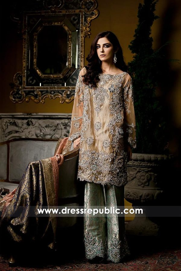 DR14580 Ammara Khan Party Wears 2018 Online USA, UK, Canada, Australia