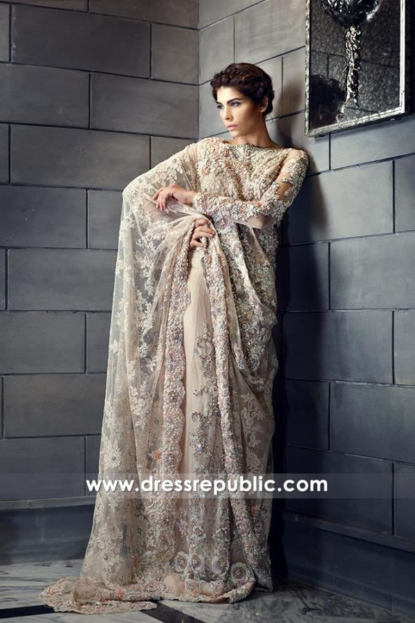 DR14581 Ammara Khan Bridal Collection 2018, Bridal Dress for Walima UK
