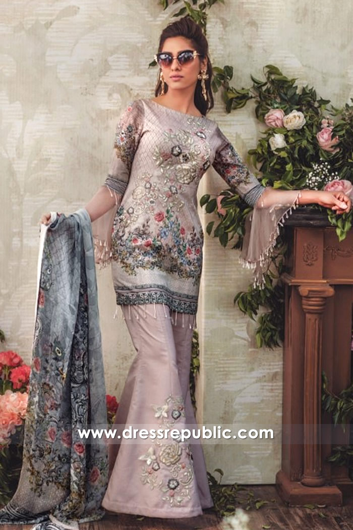DRP7132 - Noor Luxury Lawn 2018