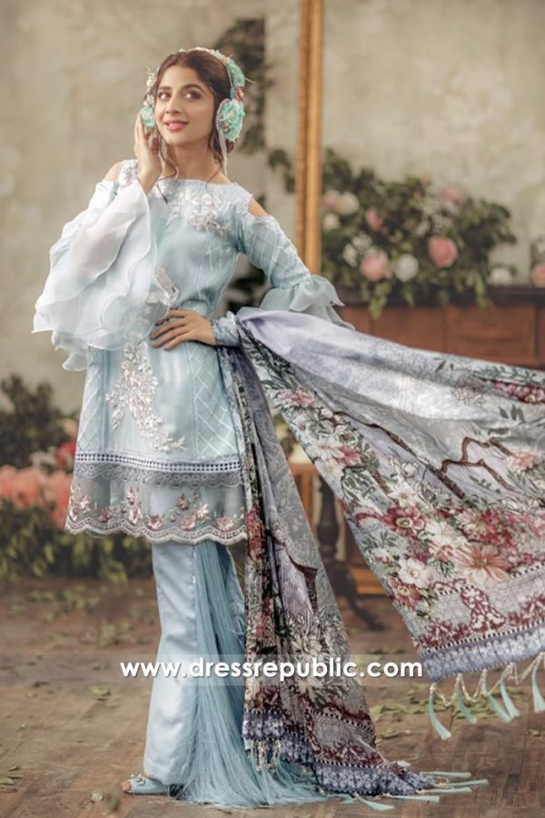 DRP7134 - Noor Luxury Lawn 2018