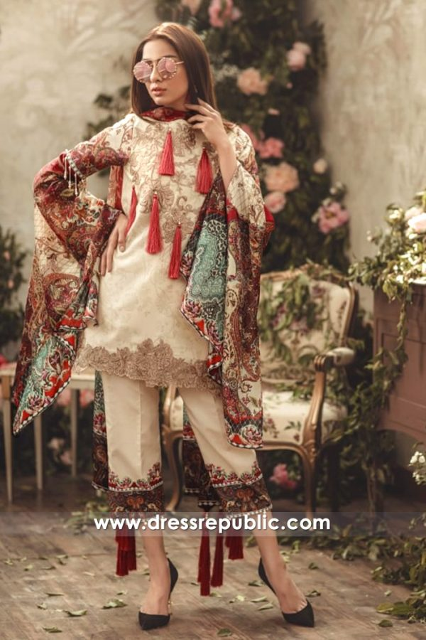 DRP7135 - Noor Luxury Lawn 2018