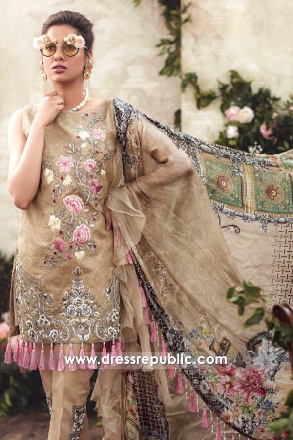 DRP7136 - Noor Luxury Lawn 2018