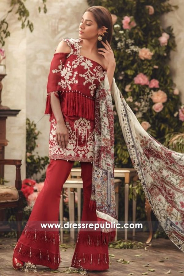 DRP7144 - Noor Luxury Lawn 2018