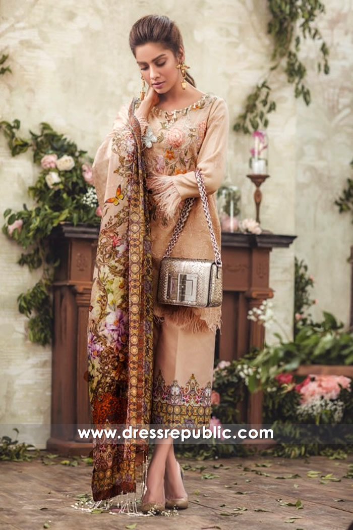 DRP7145 - Noor Luxury Lawn 2018