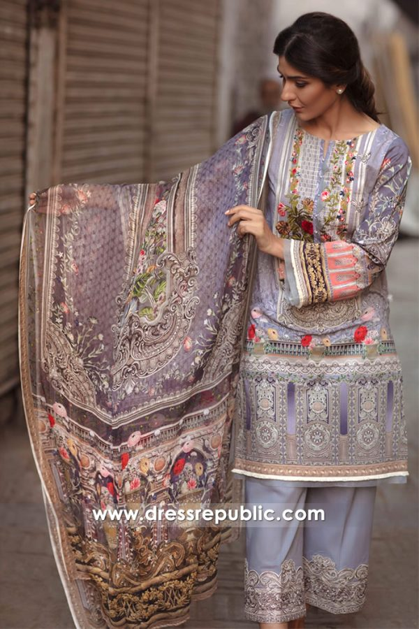DRP7150 - Firdous Lawn SS18 Collection