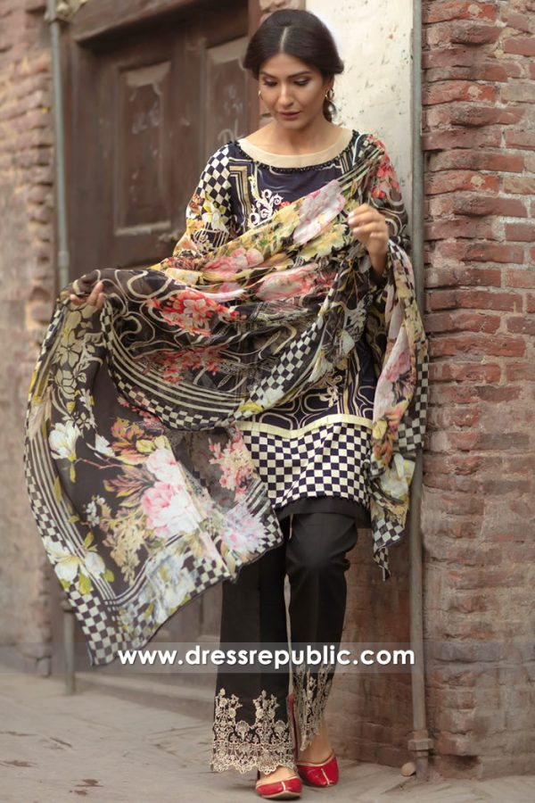 DRP7151 - Firdous Lawn SS18 Collection