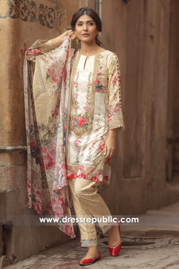 DRP7152 - Firdous Lawn SS18 Collection