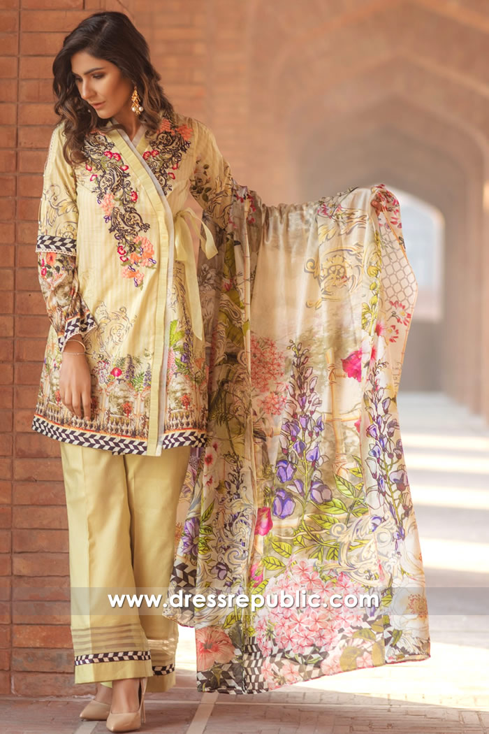 DRP7165 - Firdous Lawn SS18 Collection