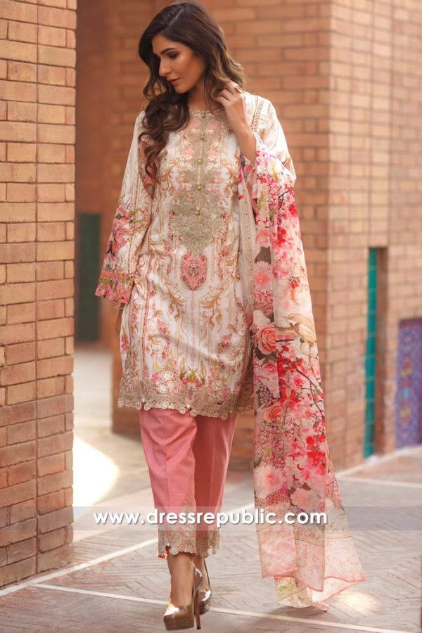 DRP7166 - Firdous Lawn SS18 Collection