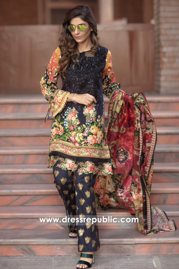 DRP7168 - Firdous Lawn SS18 Collection