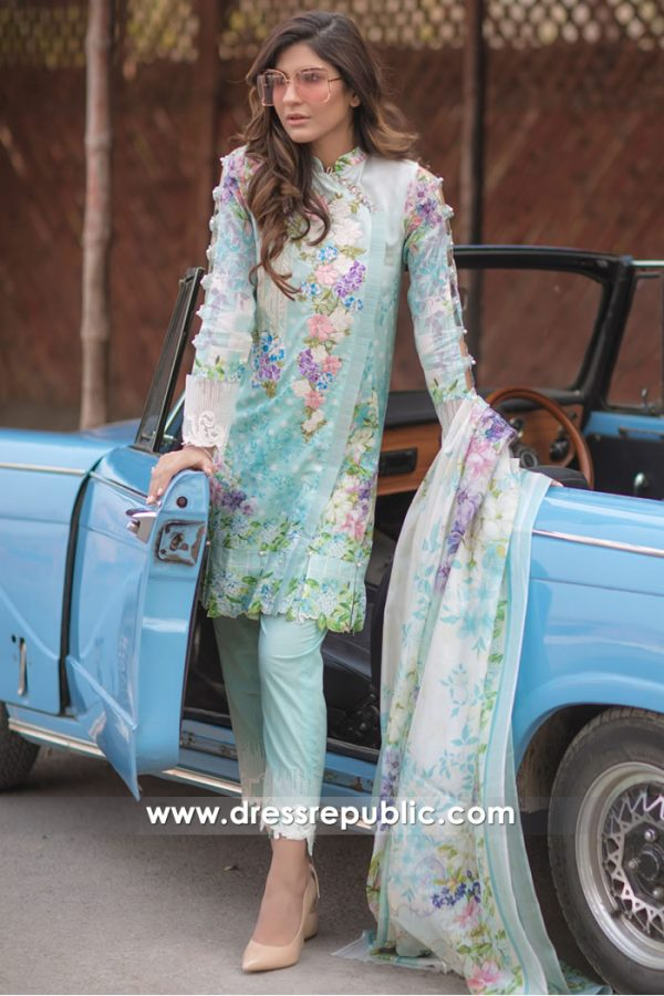DRP7170 - Firdous Lawn SS18 Collection