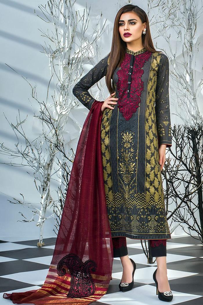 DRP7180 - Zainab Chottani Luxury Lawn