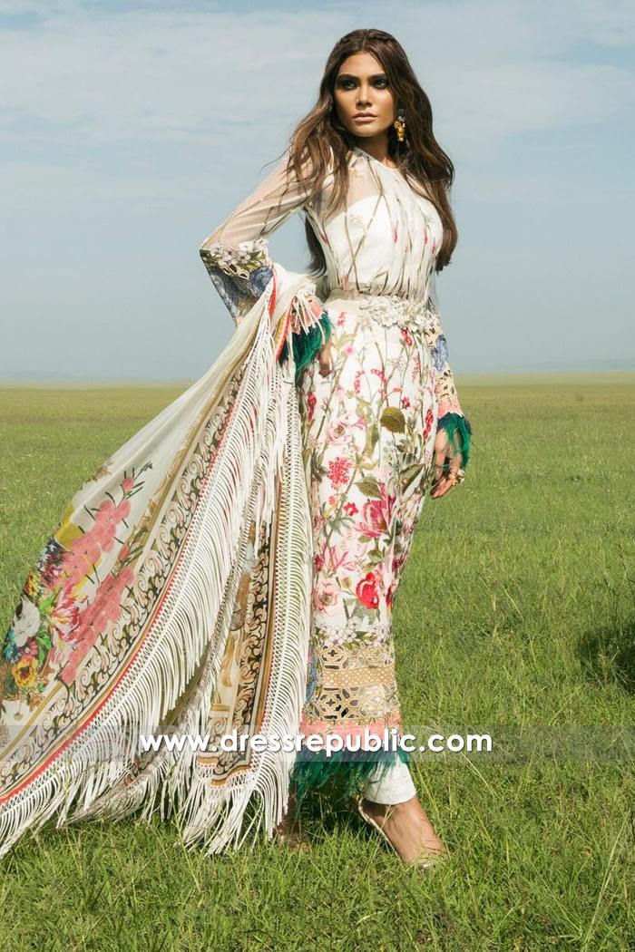 DRP7197 - Sana Safinaz Lawn 2018 Houston, Dallas, Austin, Texas