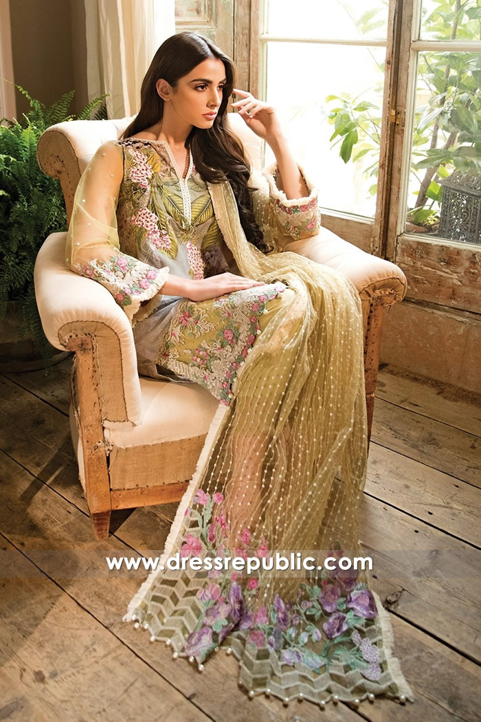 DRP7220 - Sobia Nazir Lawn 2018 USA Buy in New York, New Jersey, Texas