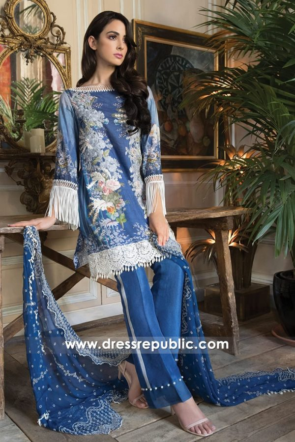 DRP7226 - Sobia Nazir Lawn 2018 Wembley, Slough, Green Street, Southall