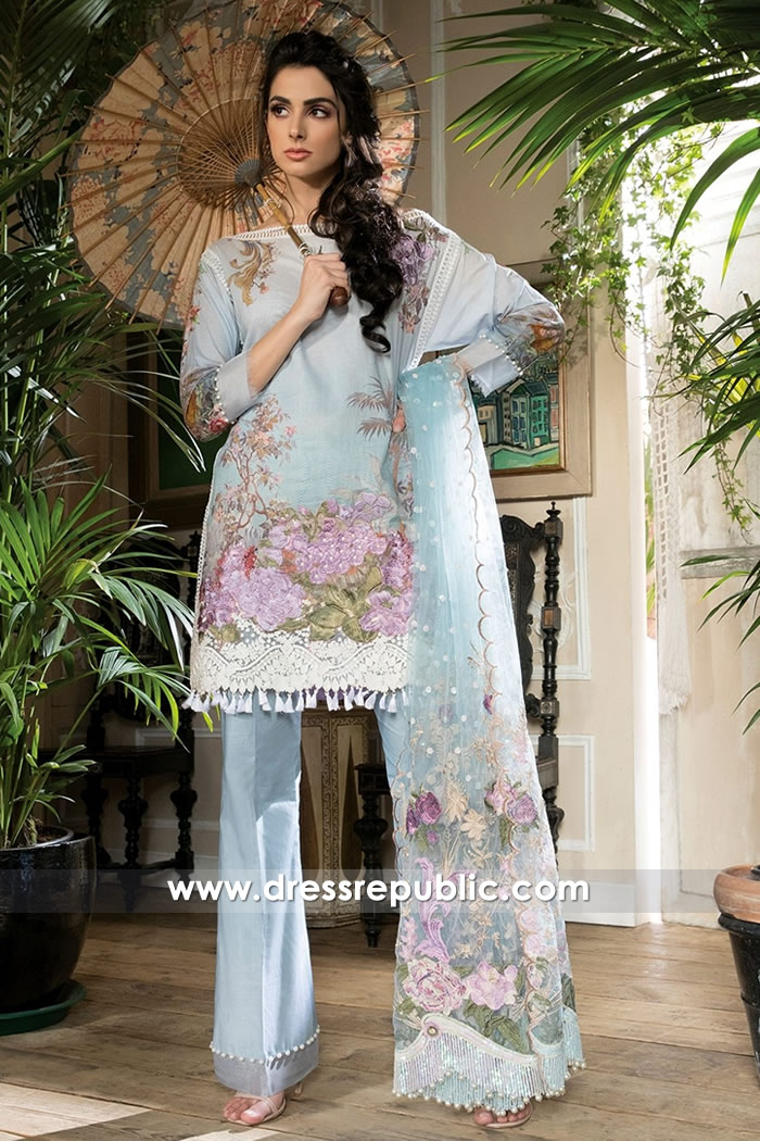 DRP7227 - Sobia Nazir Lawn 2018 Denver, Colorado Springs, Aurora, CO