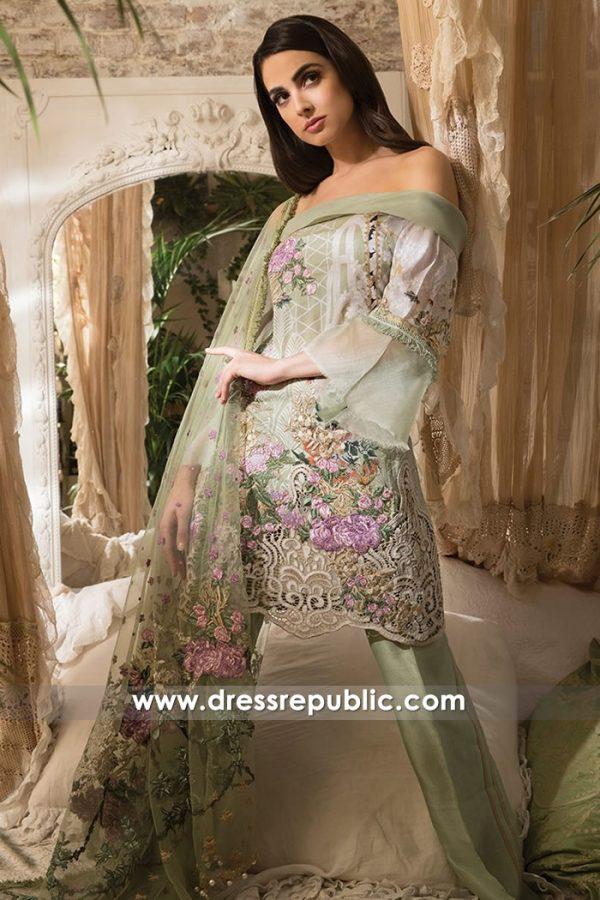 DRP7233 - Pakistani Designer Lawn Shalwar Kameez Suits 2018 Sobia Nazir