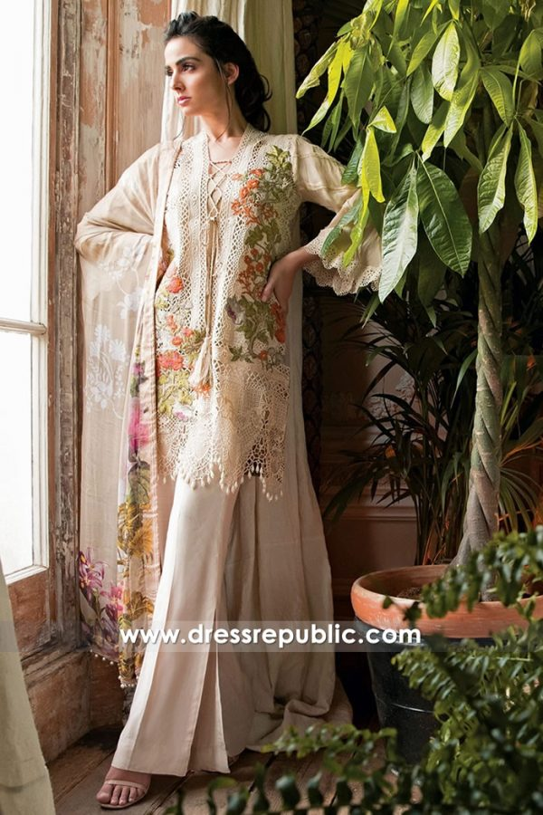 DRP7234 - Pakistani Designer Sobia Nazir Lawn Collection 2018 Shop Online