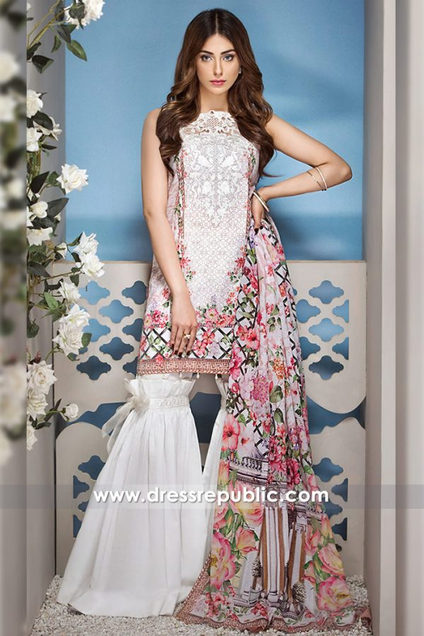 DRP7255 - Summer Lawn Suits 2018 by Anaya Luxury Lawn 2018 Shop Online