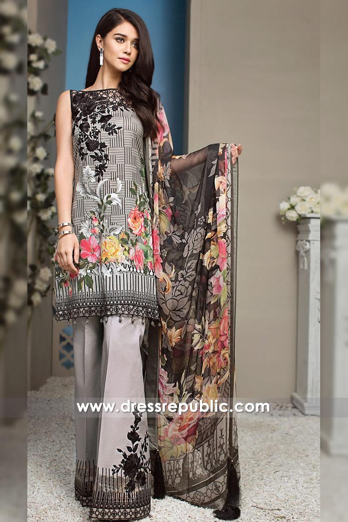 DRP7263 - Anaya Luxury Lawn 2018 Sanaullah Store Online Shop Pakistan