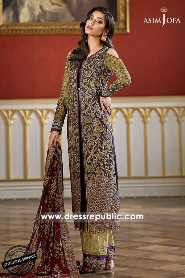 DRP7325 Asim Jofa Luxury Lawn 2018 London, Manchester, Birmingham, UK