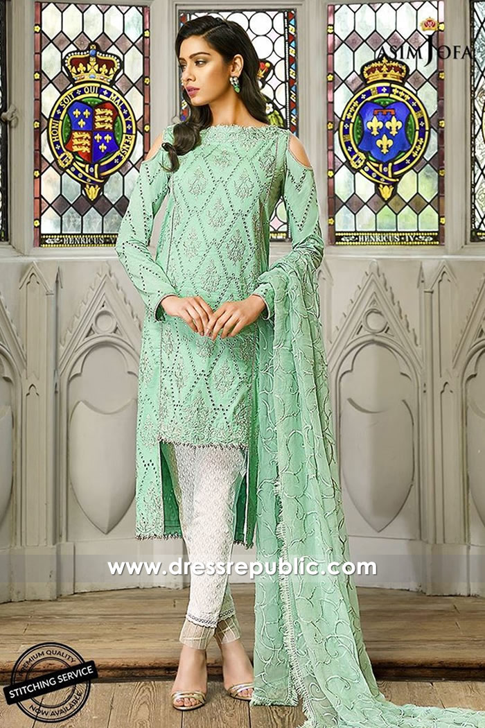 DRP7326 Asim Jofa Luxury Lawn 2018 New York, California, Ohio, USA