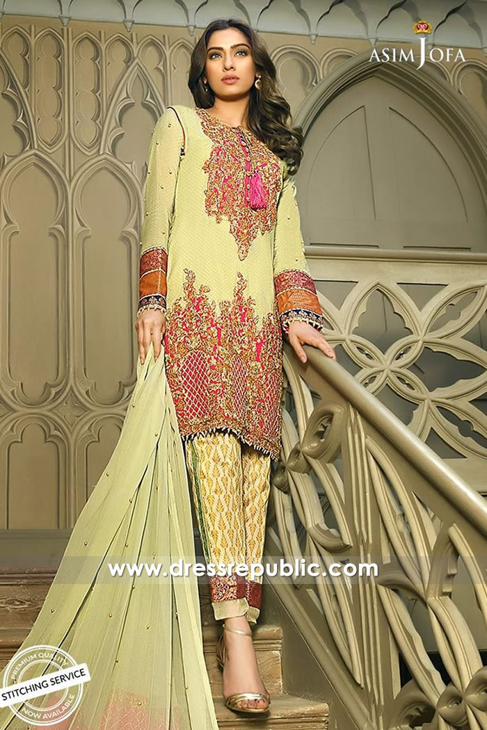 DRP7338 Home Based Boutique for Pakistani Lawn Suits USA, UK, Canada