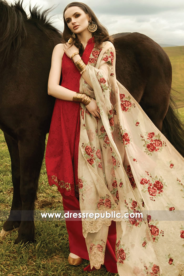 DRP7368 Zara Shahjahan Lawn 2018 in Greater London, Greater Manchester
