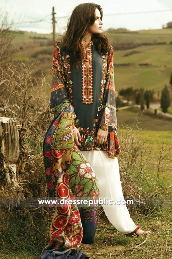 DRP7378 Zara Shahjahan Designer Lawn 2018 Maryland, Florida, Texas